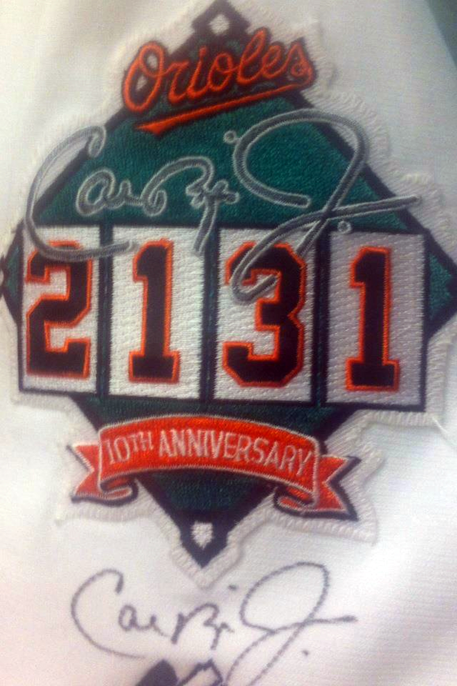 2131 10th Anniversary Commemorative Patch
